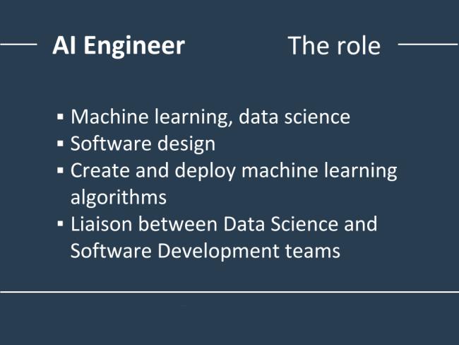 مسئولیتها و وظایف مهندس هوش مصنوعی