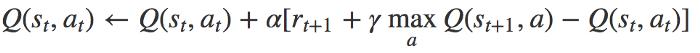 معادله بهروزشده یادگیری