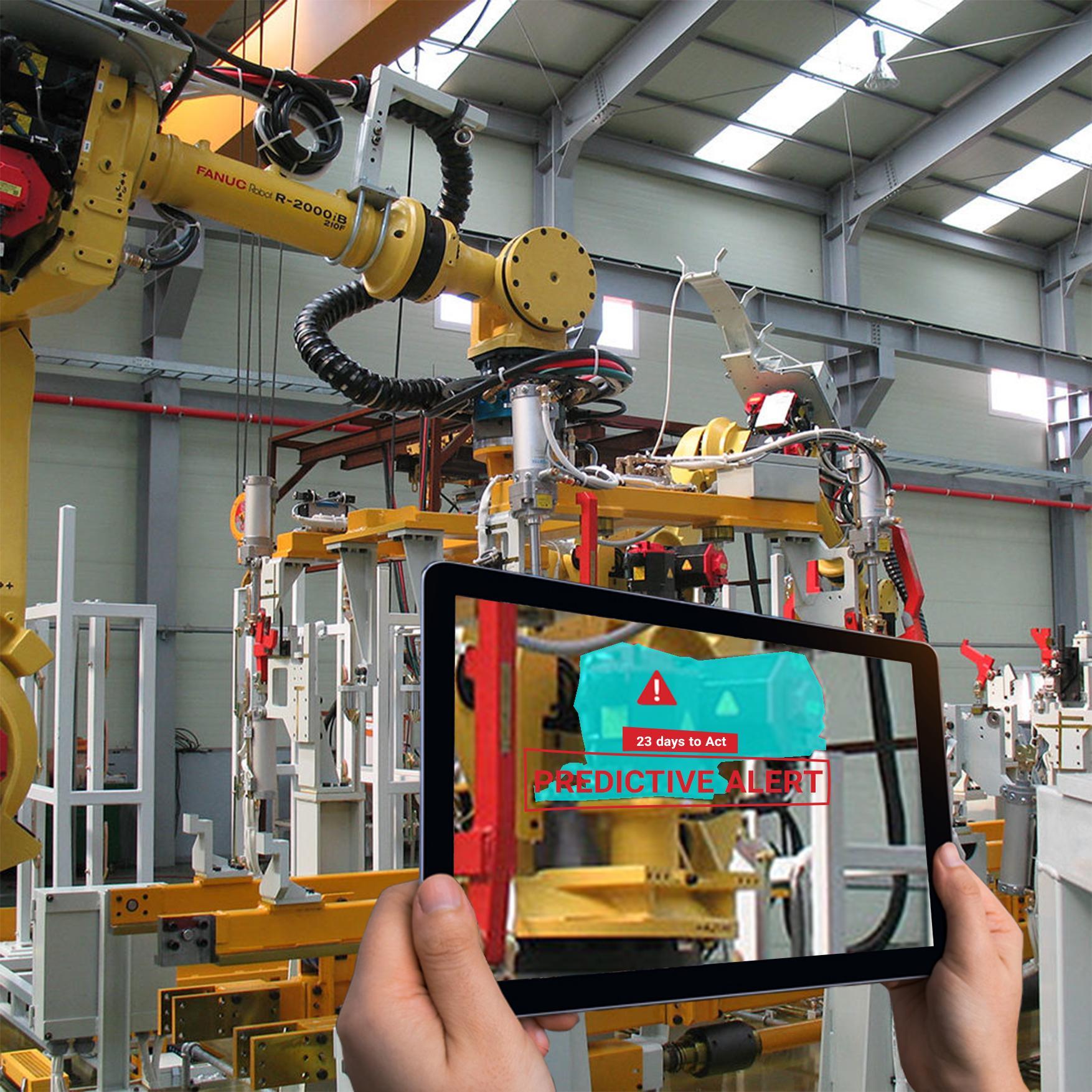 بینایی ماشین در تولید