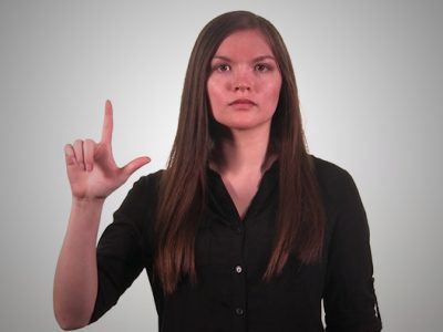 یادگیری زبان اشاره