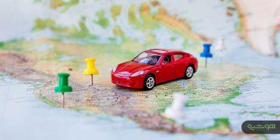 نگاشت داده های مربوط به موقعیت خودروها