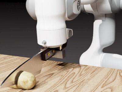 تقویت مهارت برش در ربات ها
