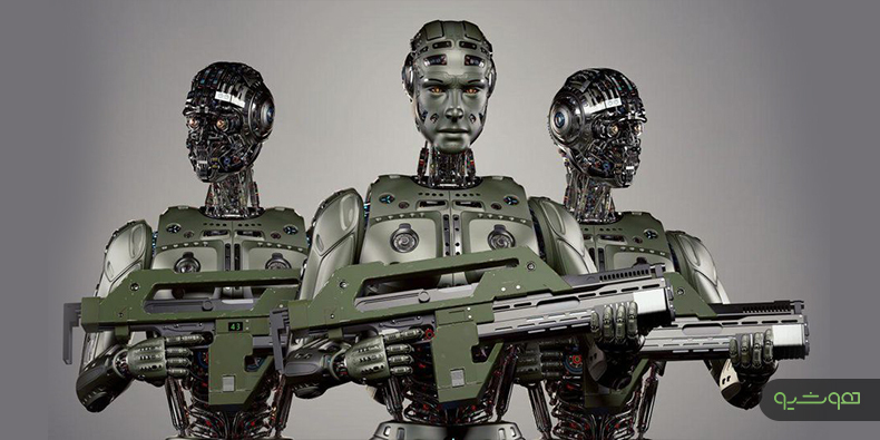 هوش مصنوعی در تسلیحات نظامی