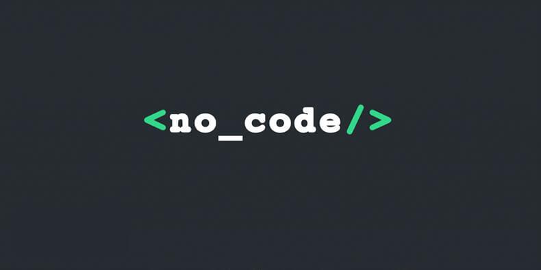 توسعه بدون کد